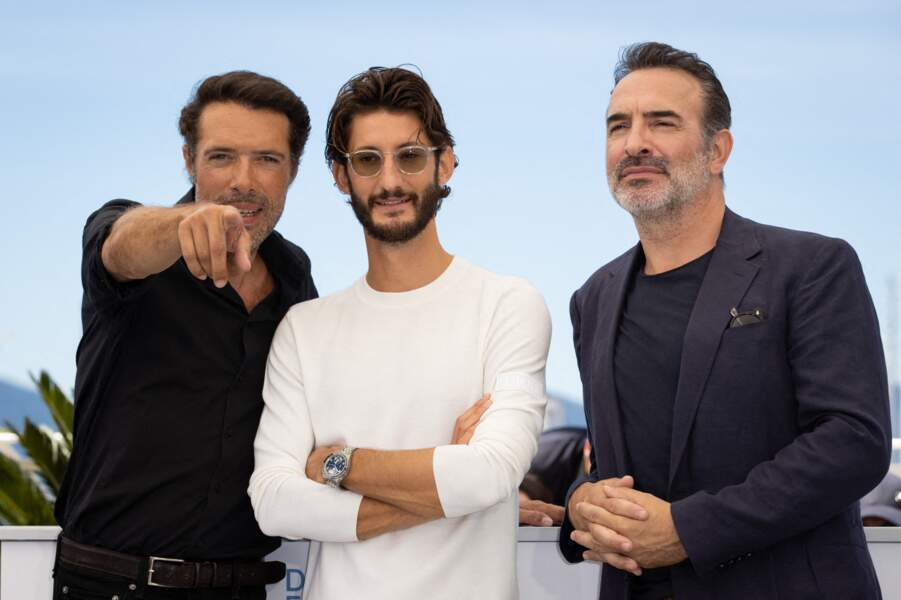 Le trio phare d'OSS 117 avec Nicolas Bedos, Pierre Niney et Jean Dujardin