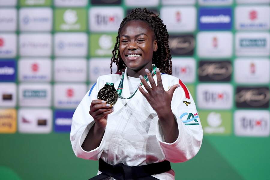 Clarisse Agbegnenou en judo
