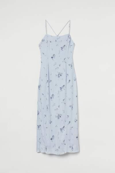 Robe avec dos ouvert, H&M, 39,99€