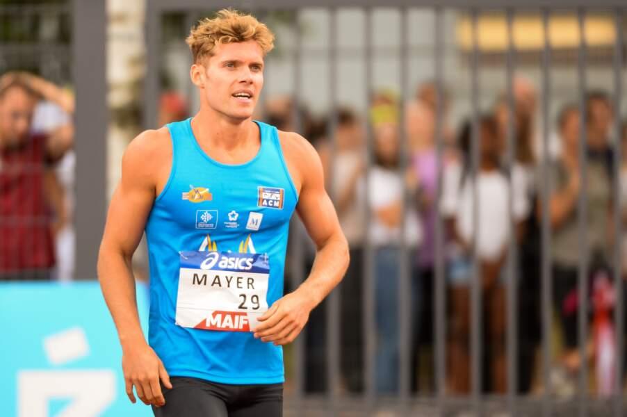 Kévin Mayer en décathlon