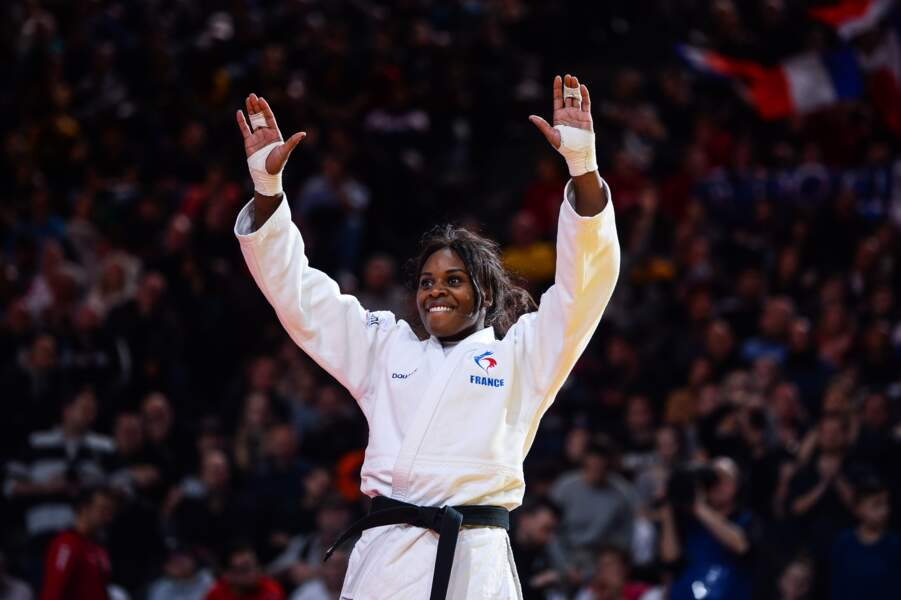 Madeleine Malonga en judo