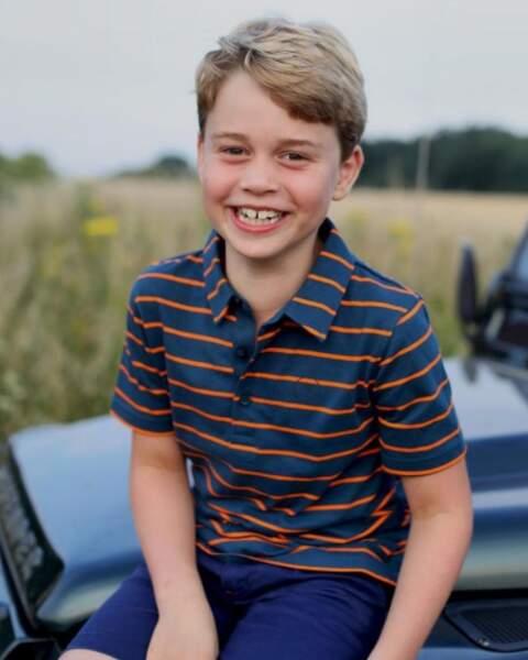Portrait officiel du prince George pour ses 8 ans