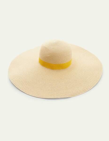 Chapeau de paille, Boden, 60€