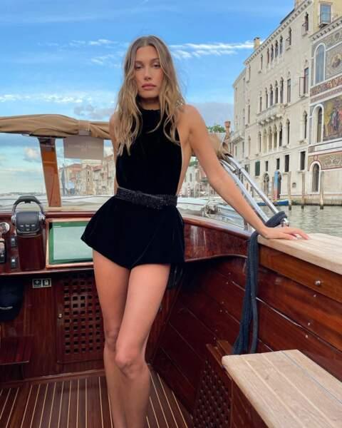 Hailey Bieber à Venise