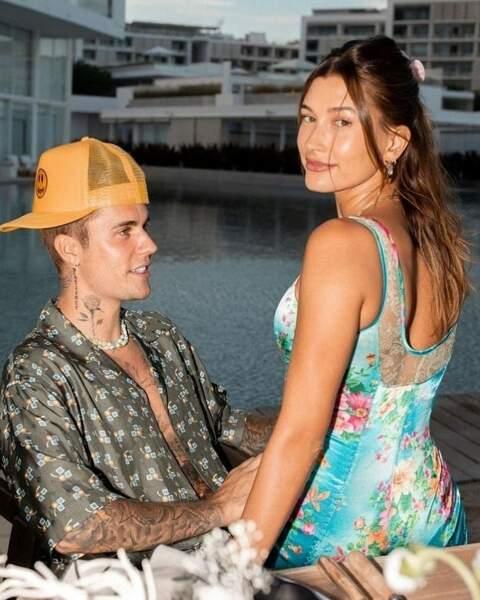 Hailey et Justin Bieber à Cabo San Lucas au Mexique