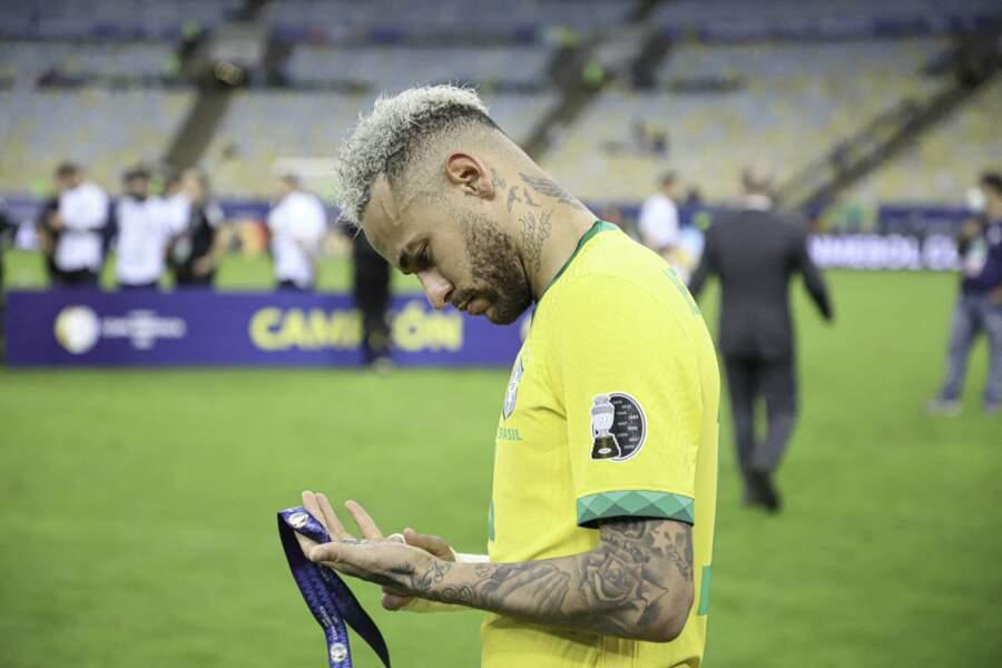 Neymar est en vacances depuis la finale de la Copa America