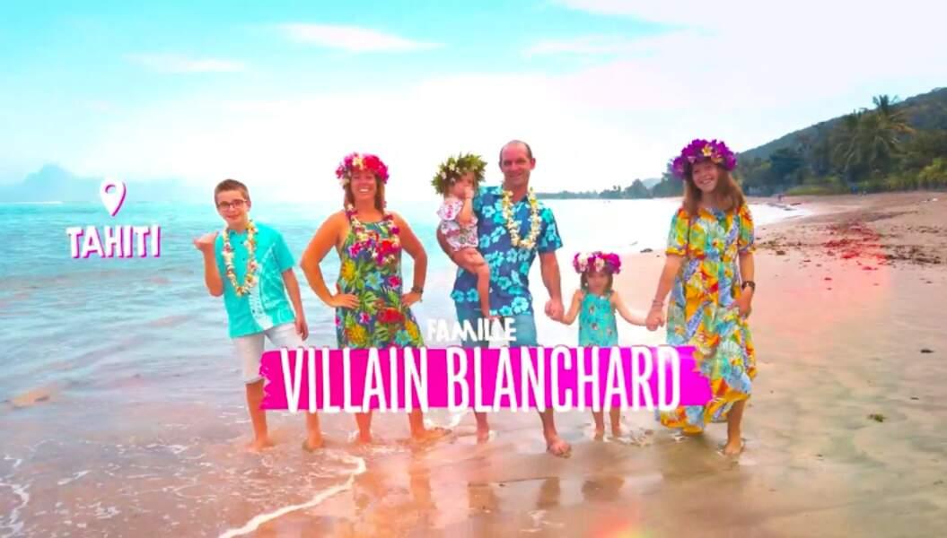 La famille Villain Blanchard