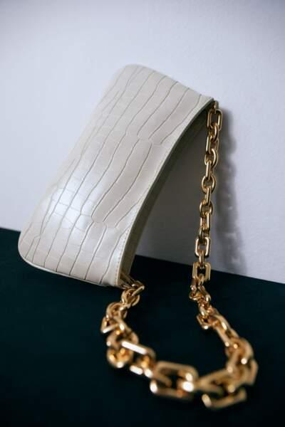 Sac porté épaule, Zara, 29,95€