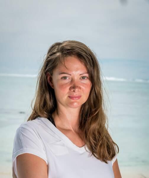 Alexandra : 34 ans  1 participation : Saison 21, Les 4 terres (Fidji 2020)