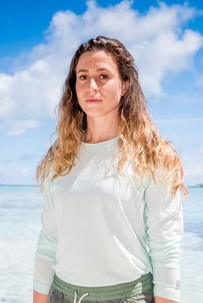 Candice : 24 ans  2 participations : Saison 16, L'île au trésor (Cambodge 2016) / Le combat des héros (Fidji 2018)