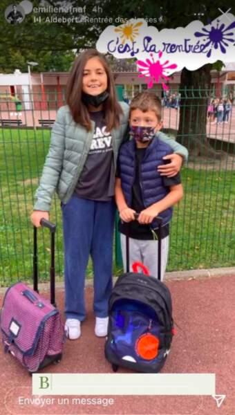 Les enfants d'Emilie Nef Naf
