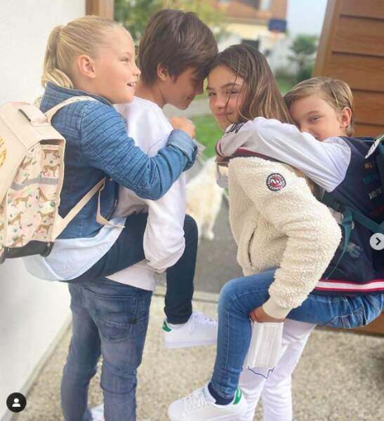 Les enfants d'Elodie Gossuin