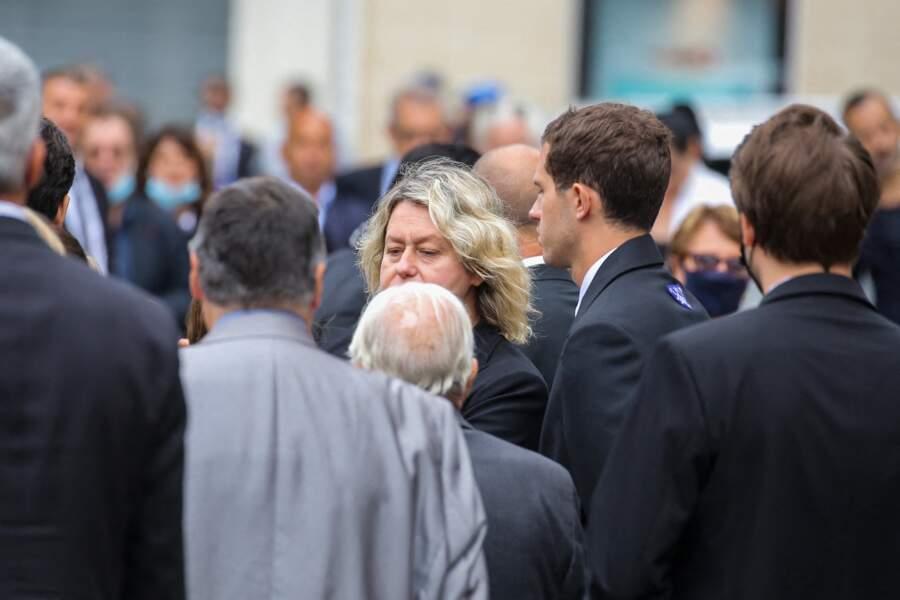 Obsèques de Jean-Paul Belmondo  : Luana Belmondo, l'épouse de Paul Belmondo