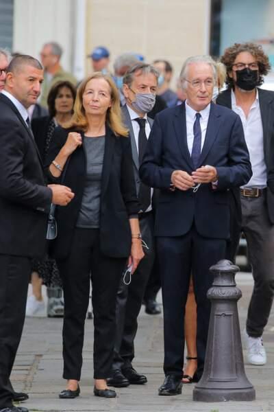 Obsèques de Jean-Paul Belmondo  : Bernard Le Coq