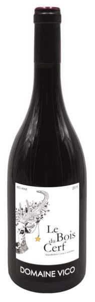 AOP Corse rouge, 10,50€, Domaine Vico chez Biocoop.