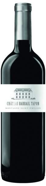 Saint-Emilion 2019, Château Barrail Tapon, 7,95€, vignobles Gabriel & Co chez Carrefour Market.