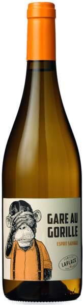 Vin de France Gare au Gorille, 5,95€ chez E.Leclerc.