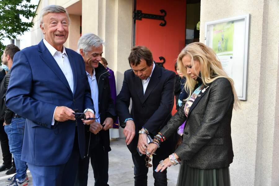 Olivier Lejeune, Cyril Viguier et Fiona Gélin