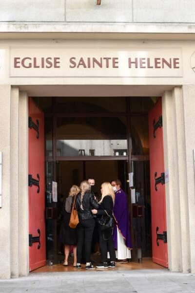 Elles ont été célébrées à la paroisse Sainte-Hélène, à Paris