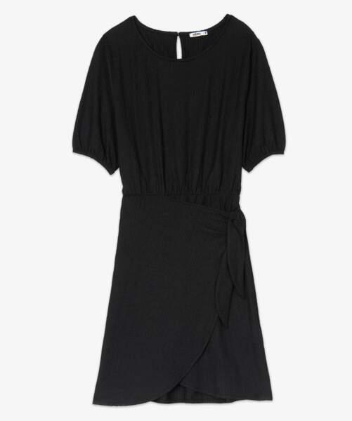 Gémo, robe portefeuille, 17,99 €