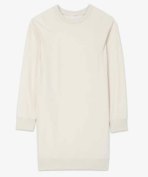 Gémo x Lulu Castagnette, robe sweat, 29,99 €