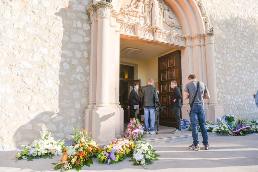Les obsèques de René Malleville se sont déroulées vendredi 24 septembre 2021 à la paroisse Saint-Mitre, dans le 13e arrondissement de Marseille.