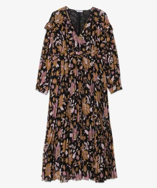 Gémo, robe longue bohème, 39,99 €