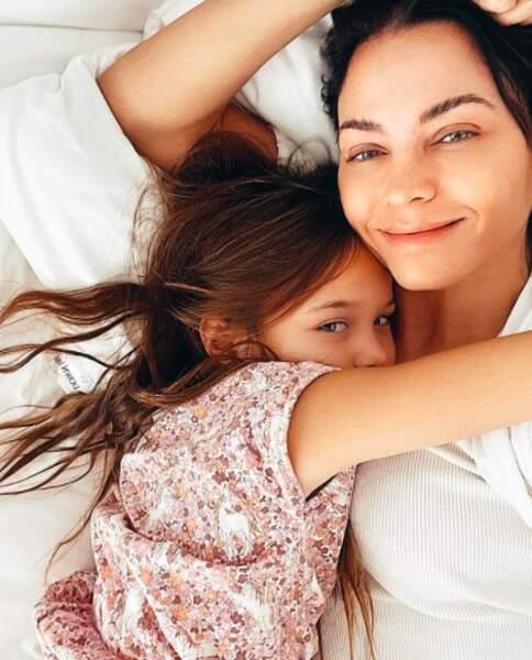 Jenna Dewan publie un cliché pour le National Daughters' Day