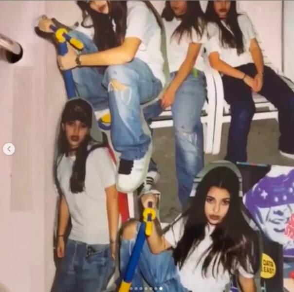 Kim Kardashian publie d'anciens clichés pour le National Daughters' Day