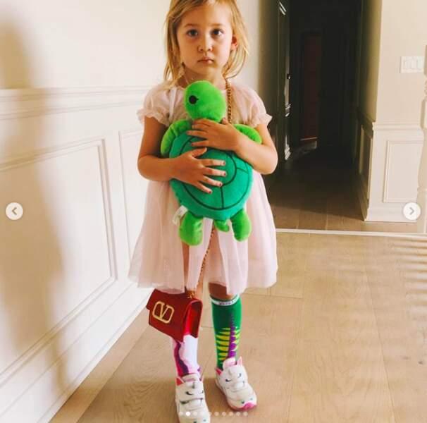 Kate Hudson publie des clichés pour le National Daughters' Day