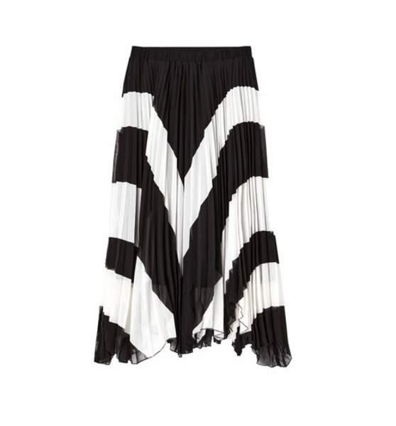 Jupe longue plissée, Promod, 39,95€