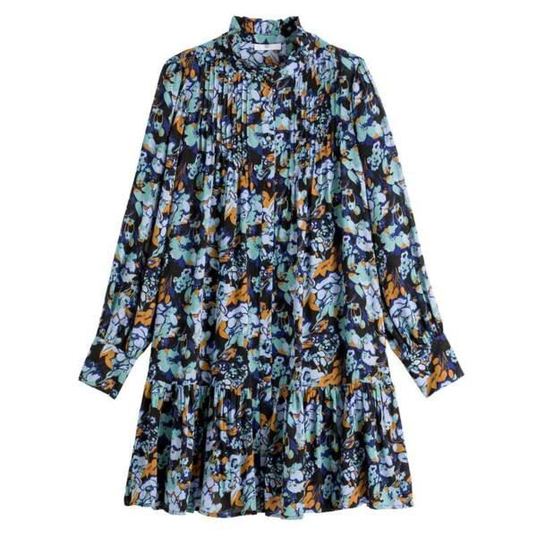 Robe fleurie, La Redoute, 49,99 €