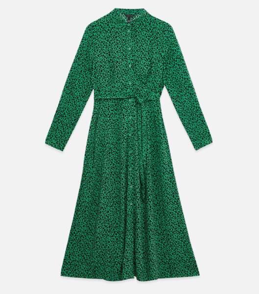 Robe léopard, New Look, 39,99 €