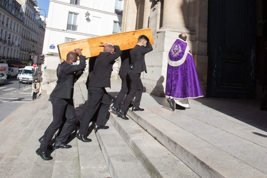 Les obsèques de François Florent