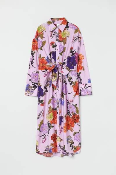 Robe fleurie H&M, 24,99 €