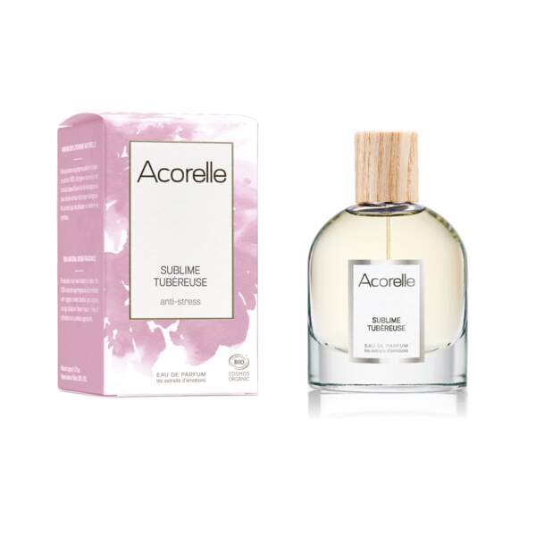 Prix de l'Innovation Responsable pour un parfum : Sublime Tubéreuse d'Acorelle