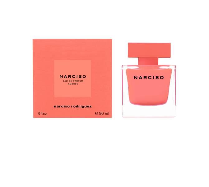 Prix de la Meilleure Fragrance Féminine décerné par les Professionnels pour la Parfumerie Sélective : Narciso Eau de Parfum Ambrée de Narciso Rodriguez