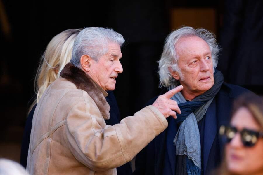 Claude Lelouch et Didier Barbelivien