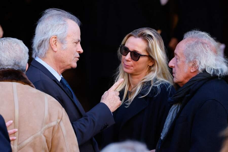 Franz-Olivier Giesbert, Didier Barbelivien et son épouse Laure