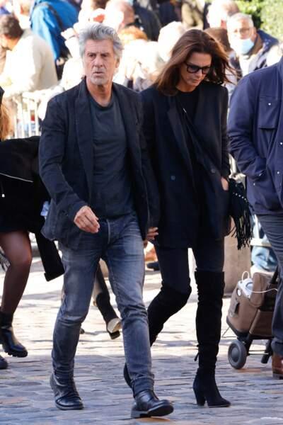 Marc Simoncini et sa compagne Ingrid