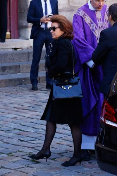 Son épouse Dominique Tapie