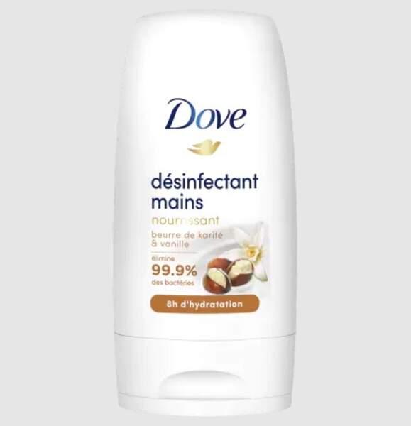 Désinfectant pour les mains, Dove, 1,80€ les 50ml sur Beauté Privée