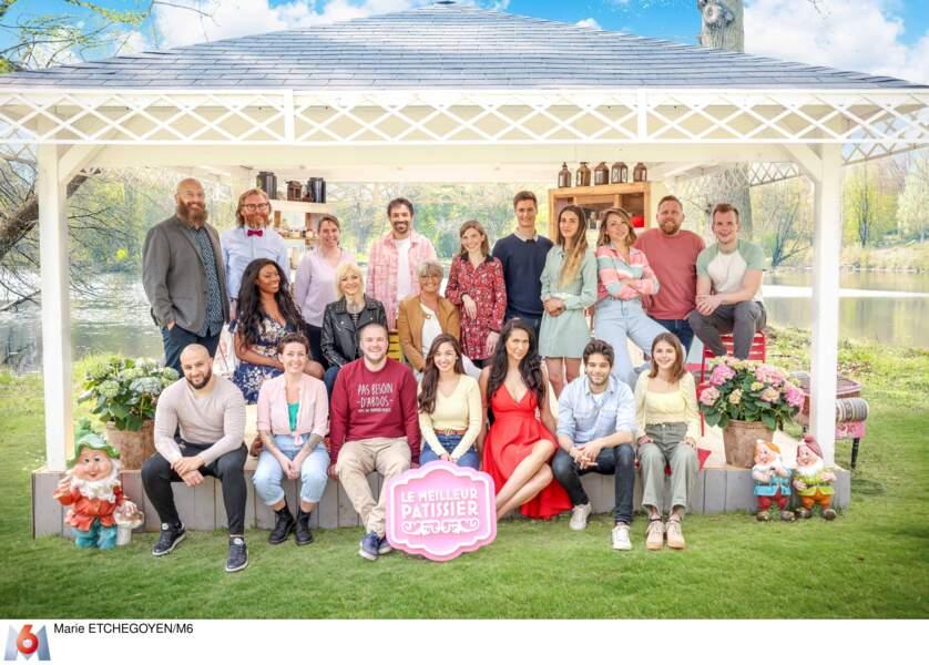 PHOTOS Le Meilleur Pâtissier : découvrez les candidats de la nouvelle saison