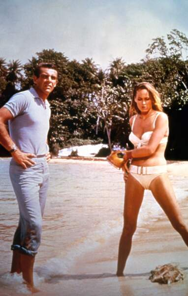 Ursula Andress dans James Bond 007 contre Dr No