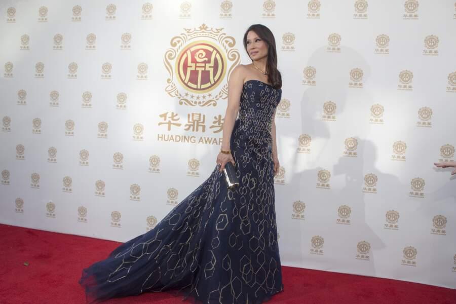 Lucy Liu en 2014