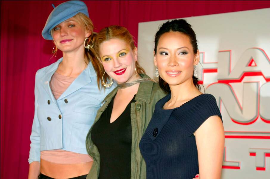 Cameron Diaz, Drew Barrymore et Lucy Liu en 2003