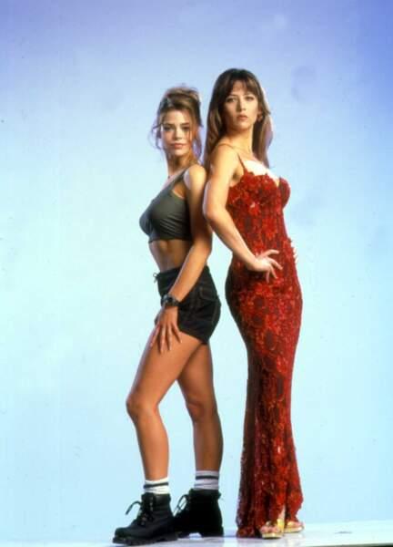 Denise Richards et Sophie Marceau Le monde ne suffit pas