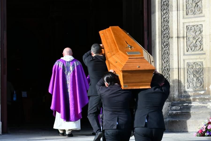 Obsèques d'Etienne Mougeotte à Paris