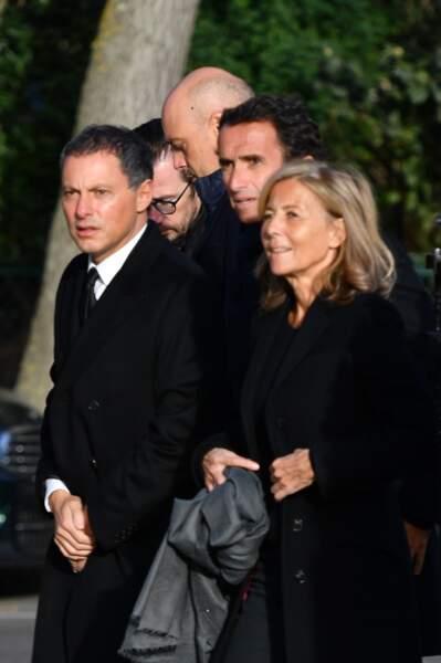Marc-Olivier Fogiel, Alexandre Bompard et Claire Chazal